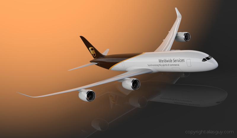 707 Cargo Ups